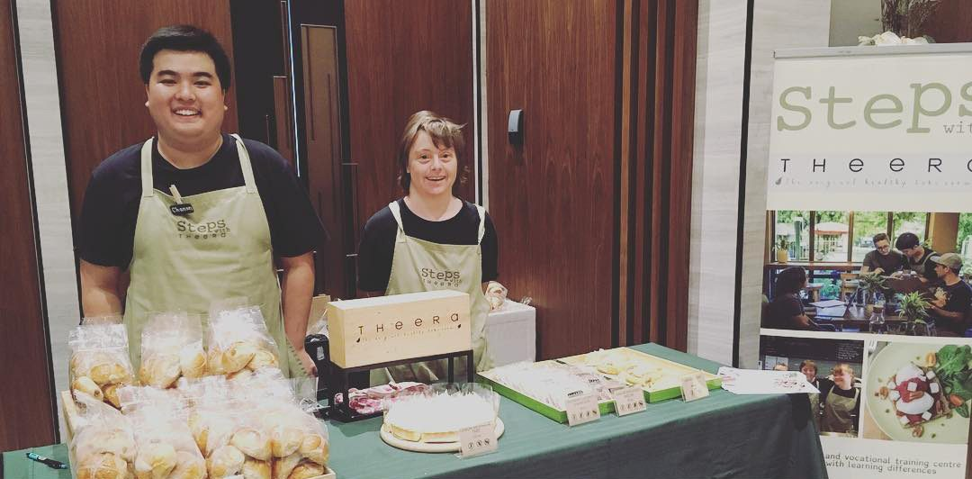 Steps trainee selling at British Women's Group Annual General Meeting